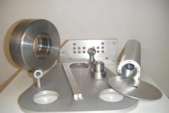 Flat & Round Aluminum Parts